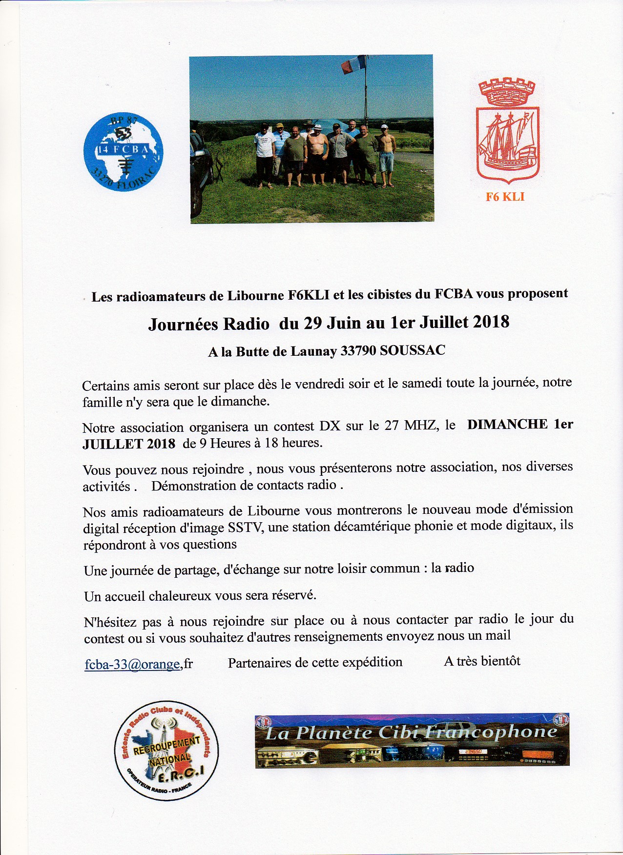 Affiche journee radio